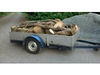 Trailer 8x5ft *Braked*Ideal for Quad bikes*Ride on Mowers*Buggies*Builder*Logs*