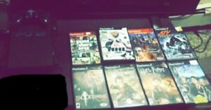 PS2 with 8 games