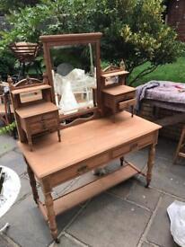 Antique Edwardian Dresser hand stripped
