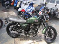Hanway RAW 125, Learner Legal Motorcycle.