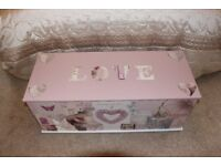 Brand New Pink Themed Storage Chest
