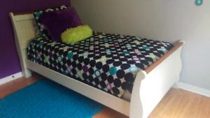 Set de chambre lit simple