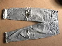 Top Shop ripped jeans petite size W26 L 28