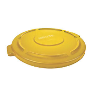 Rubbermaid BRUTE 32g Lid 2631 (YELLOW)
