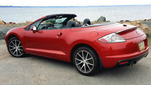 2009 Mitsubishi Eclipse Spyder GT Convertible - 6 Speed
