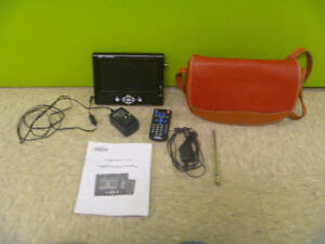 Digital Prism Portable 7 Inch LCD TV With Accessories
