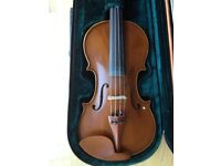 Stringers Full Size Symphony Class Violin, Bow, Shoulder Stand & Canvas Case