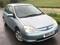 2001 Honda civic 1.6 Se