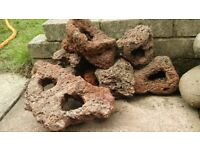Lava Stone for Fish Tank Decoration