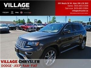 2016 Jeep Grand Cherokee SummitV8 Nav DVDs Panoroof Tow Remote