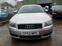 audi a3 2.0 tdi 6 speed no mot and rattle in fly wheel