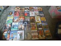 Variety of dvds for sale 50p each
