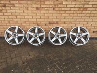 """Genuine Mercedes Alloy 18"""" AMG wheels x 4"""