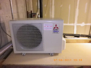 Ductless Mini Split Heat pump and air conditioner