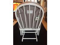 Ladybird nursing chair and footstool