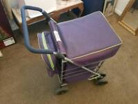 sholley shopping trolley with matching bag