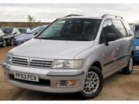 MITSUBISHI SPACE WAGON 2.4 PETROL EQUIPPE GDI 7 SEATER 5D AUTOMATIC 145 BHP