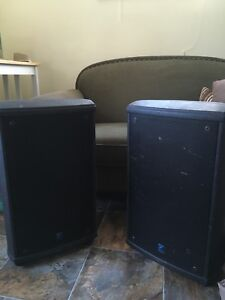 Two Yorkville NX55P speakers $500 ea/ $950 both