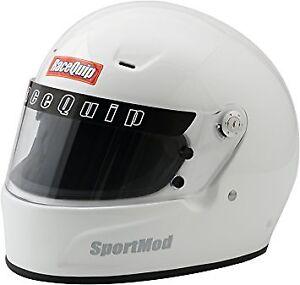 Racing helmet SA2010 size medium in white