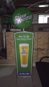 Large steamwhistle sign