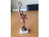 """Bronze Greek Statue """"OLYMPIC WINNER"""" Hellenic Art - Made in Hellas"""