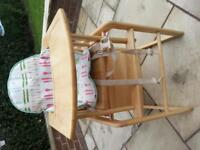 Highchair with cover (East Coast)