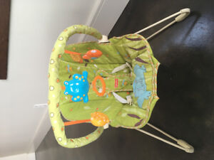 Baby bouncy chair by fisher price