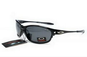 Black Frame Black Lens Oakley Half X Sunglasses Polished