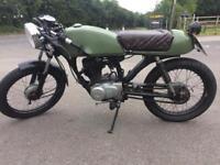 Honda cg 125 Custom cafe racer 125cc