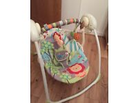 Bright Starts baby portable swing