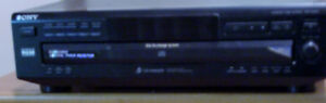 SONY COMPACT 5 CD DISC PLAYER