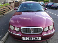 Rover 75, Good Runner, Reliable, Sold as Seen