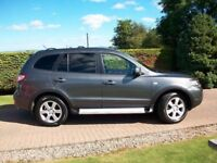 2008 HYUNDAI SANTA FE LIMITED CRDT 5 SEATER.*FULL LEATHER TRIM*LOVELY CONDITION*