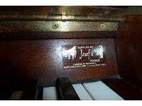 Mahogany Chappell D Upright Piano
