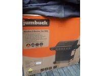 Jumbuck 6 burner gass barbecue