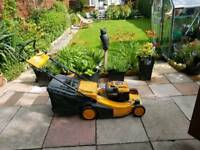 Partner petrol mower