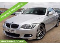 2012 12 BMW 3 SERIES 3.0 325I PETROL M SPORT AUTOMATIC 215 BHP FULL BMW HISTORY