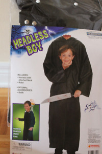 Costume d'Halloween/Halloween Costume Headless Boy