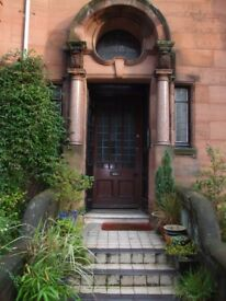 COMFORTABLE ROOM TO LET WEST END GLASGOW