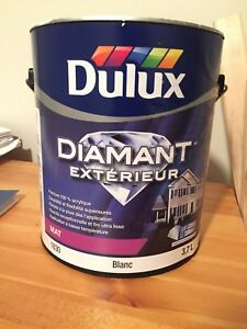 FULL - Can of Highest Quality White Exterior Paint