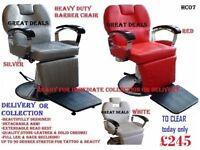 brand new hydraulic barber chair - heavy duty