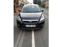 FORD FOCUS 1.6 TDCI ESTATE ZETEC 60 REG IN METALLIC BLACK WITH 1 PREVIOUS OWNER SINCE NEW