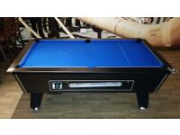World Class Slate Bed Pool Table - New Re-cover - Accessories Included - Delivery Available !!LOOK!!