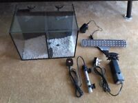 Small Brand New Fish Tank Aquarium 20L