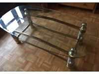 Glass Table (GOOD CONDITION)