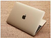 World Lightest Laptop 2016 Macbook Gold 12inch with Extras