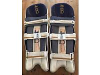 Top quality Bradbury Sterling CL cricket pads men's