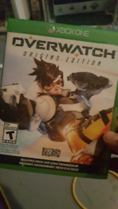 Overwatch Xbox One (reduced price or trade)