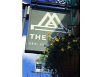 **P/T Bar/ Waiting staff**