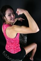 Athletic females for fitness and strength shoots in Windsor